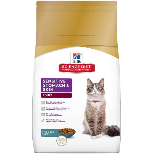 Hill's Science Diet Adult Sensitive Stomach & Skin Cat Food